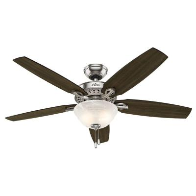 Heathrow 52 in. Brushed Nickel Ceiling Fan